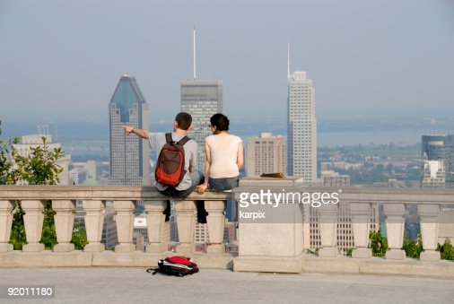 Travellers in Montreal