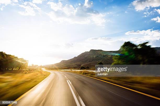 Voyage par la route