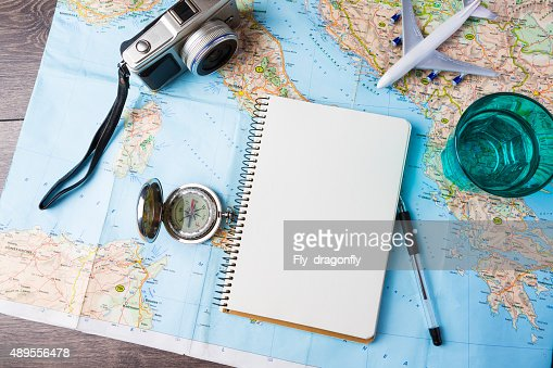 Travelling tools : Stock Photo