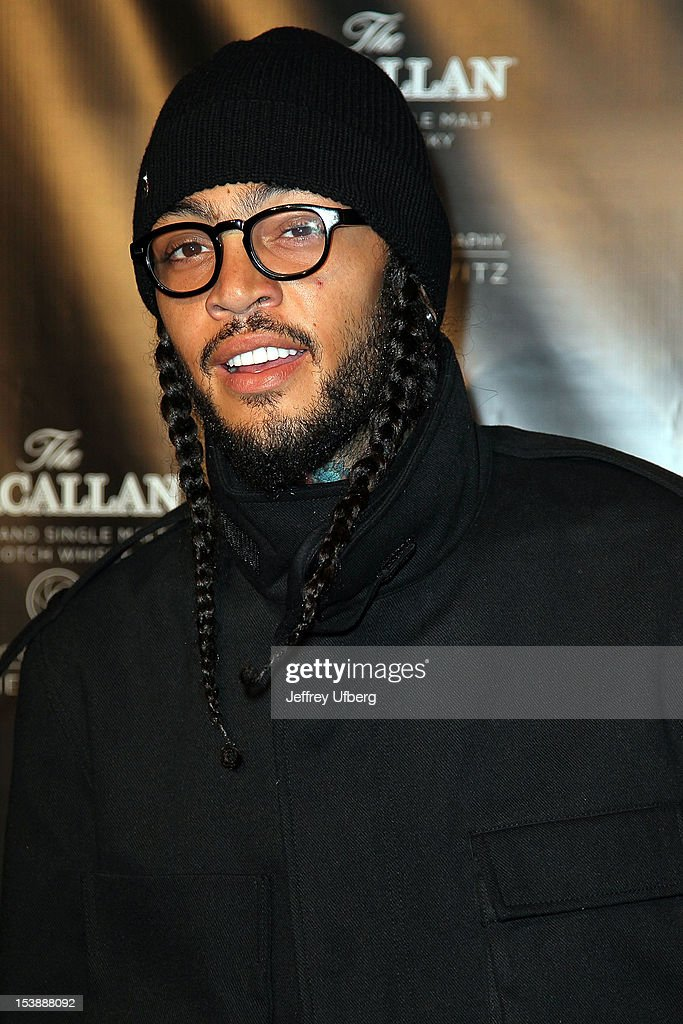 Travie McCoy attends The Macallan Masters Of Photography Series launch at The Bowery Hotel on October 10, 2012 in New York City.