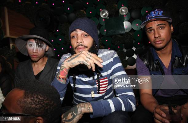 Travie McCoy is seen at Greenhouse on May 15 2012 in New York City