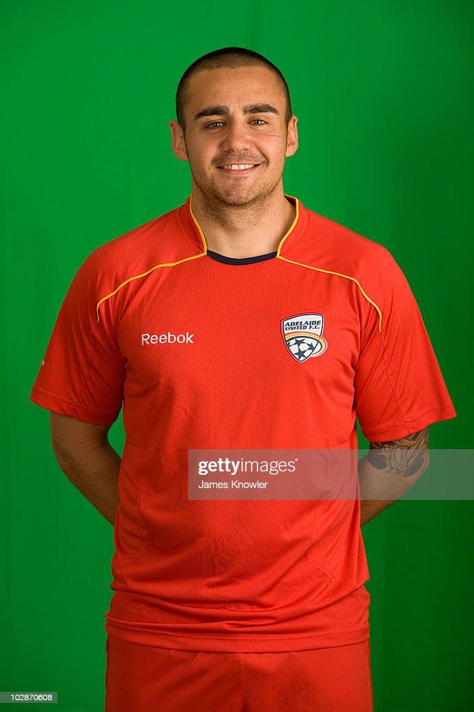 2010/11 A-League Headshots - Adelaide United