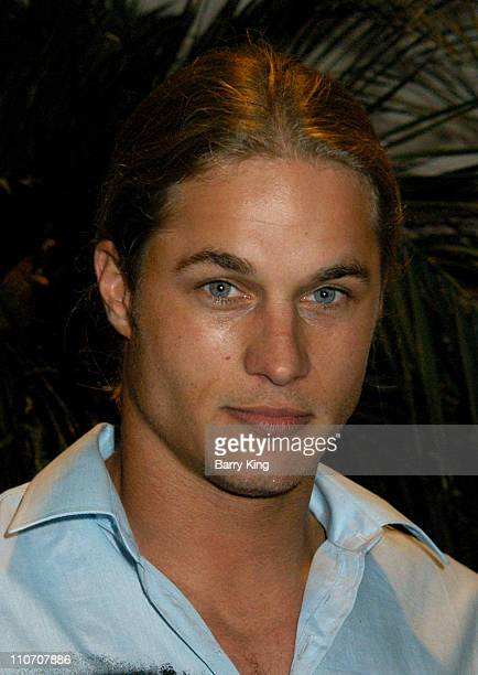 Travis Fimmel during The WB Presentation at Television Critics Association Inside at Renaissance Hotel in Hollywood California United States