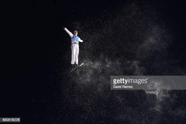 Travis Gerrits of Canada in action during Men's Aerials Training on day two of the FIS Freestyle Ski and Snowboard World Championships 2017 on March...