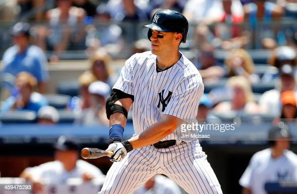 Travis Hafner of the New York Yankees in action against the Baltimore Orioles at Yankee Stadium on July 7 2013 in the Bronx borough of New York City...
