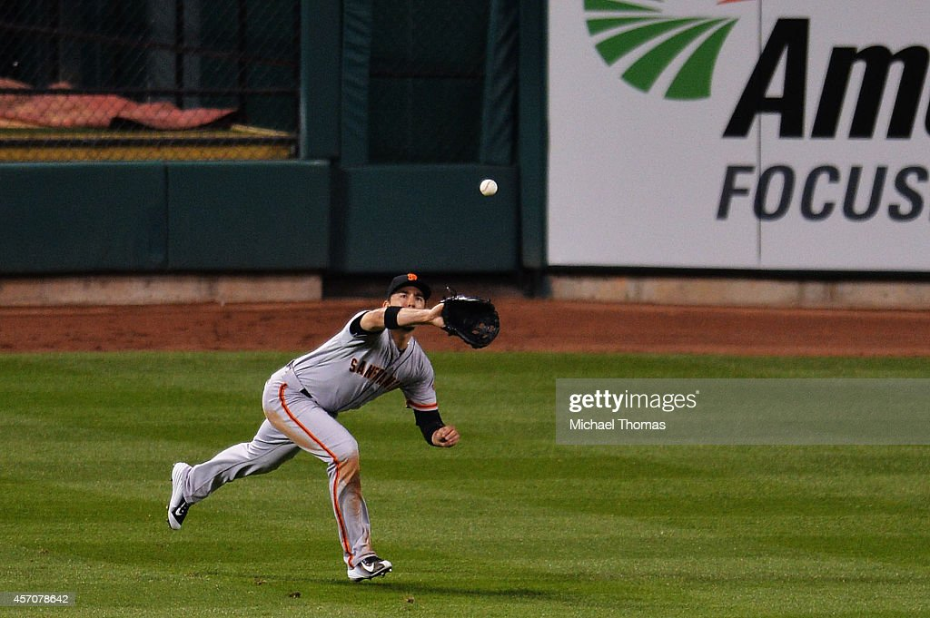 NLCS - San Francisco Giants v St Louis Cardinals - Game One