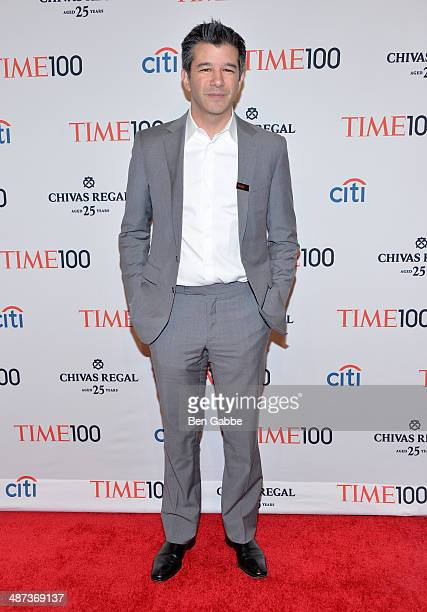 Travis Kalanick attends the TIME 100 Gala TIME's 100 most influential people in the world at Jazz at Lincoln Center on April 29 2014 in New York City