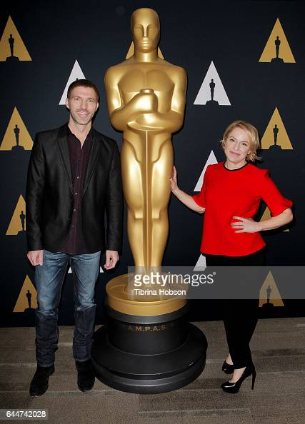 Travis Knight and Arianne Sutner attend the 89th Annual Academy Awards Oscar Week celebration for Animated Features at Samuel Goldwyn Theater on...