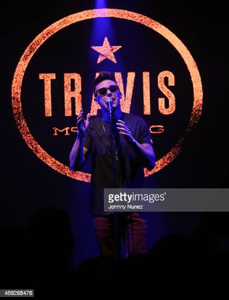 Travis McClung performs at Highline Ballroom on November 19 2014 in New York City