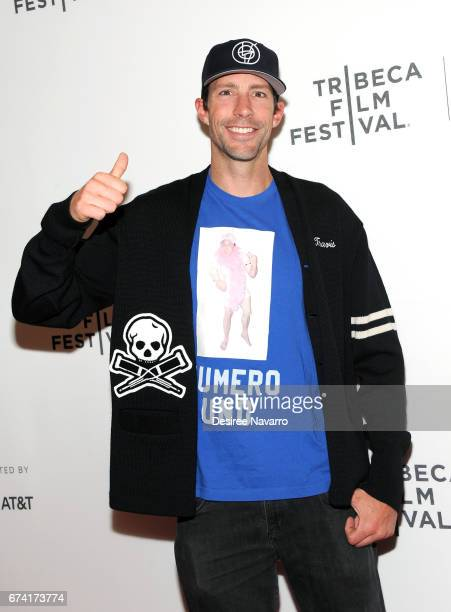 Travis Pastrana attends 2017 Tribeca Film Festival 'Dumb The Story of Big Brother Magazine' at Spring Studios on April 27 2017 in New York City
