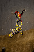 Travis Pastrana competes at Moto Speed and Style during Summer X 16 on August 1 2010 in Los Angeles California