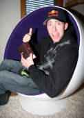 Travis Pastrana during 2007 Park City Complex Magazine and DC Shoes Snow Boarding Park and Gifting Lounge with Nick Cannon at Private Home in Park...