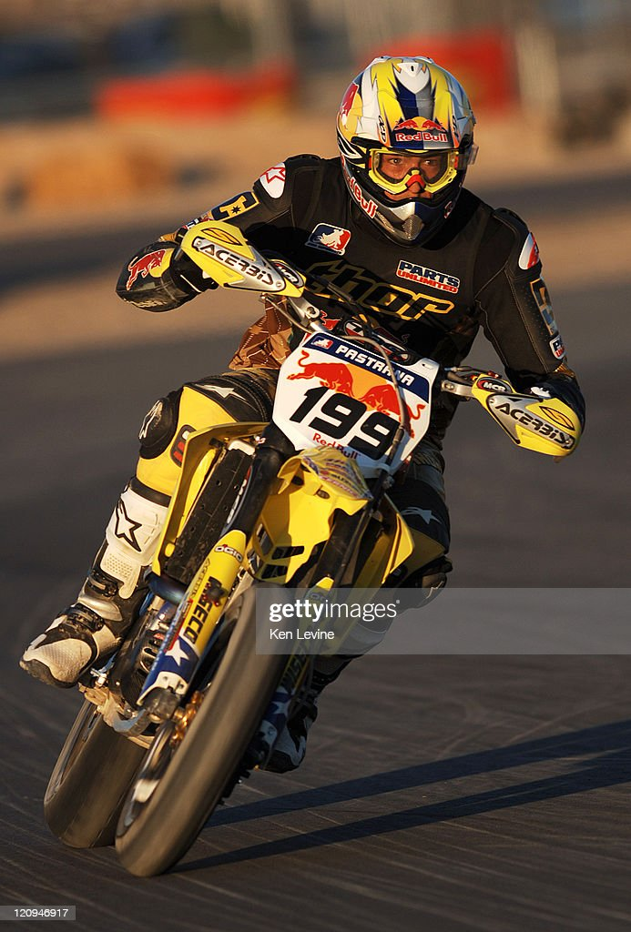 <a gi-track='captionPersonalityLinkClicked' href=/galleries/search?phrase=Travis+Pastrana&family=editorial&specificpeople=710019 ng-click='$event.stopPropagation()'>Travis Pastrana</a> finishes in 8th place in the AMA SuperMoto Championship race #2 at Miller Motorsports Park in Tooele, Utah, Saturday June 17, 2006.