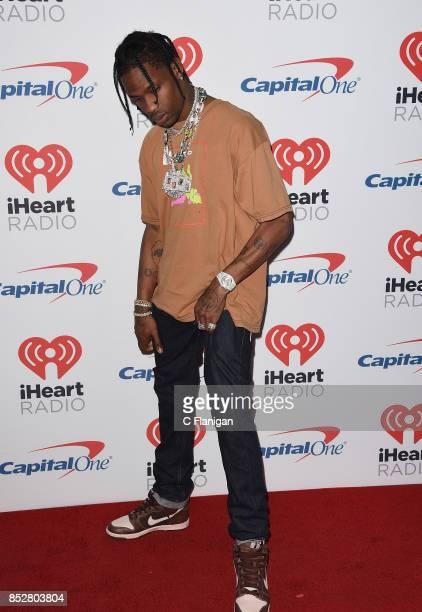 Travis Scott attends the 2017 iHeartRadio Music Festival at TMobile Arena on September 23 2017 in Las Vegas Nevada