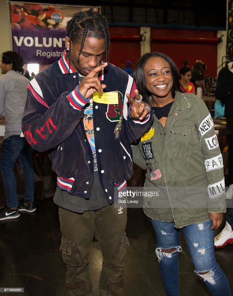 Travis Scott Hosts Hurricane Harvey Relief Turkey Drive