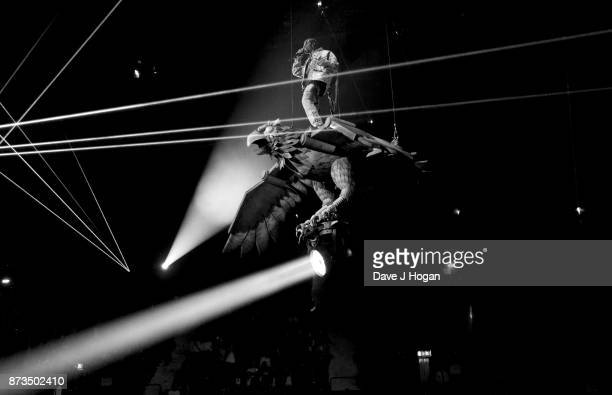 Travis Scott performs during the MTV EMAs 2017 held at The SSE Arena Wembley on November 12 2017 in London England
