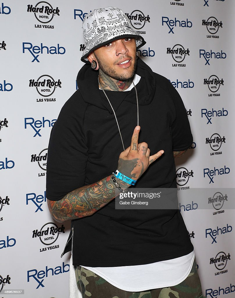 Travie McCoy Of Gym Class Heroes At Rehab