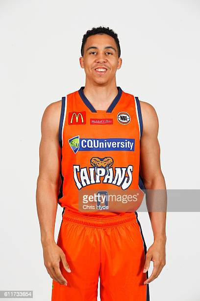 Travis Trice poses during the Cairns Taipans 2016/17 NBL headshots session at Rydges Southbank on September 22 2016 in Brisbane Australia