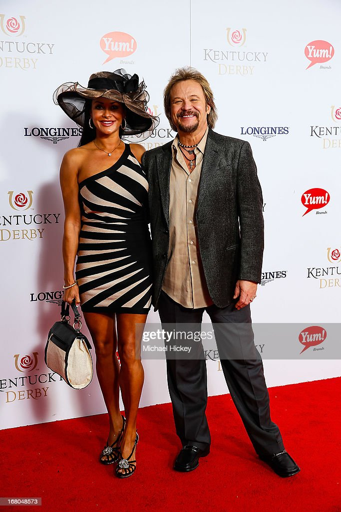 Travis Tritt attends 139th Kentucky Derby at Churchill Downs on May 4, 2013 in Louisville, Kentucky.