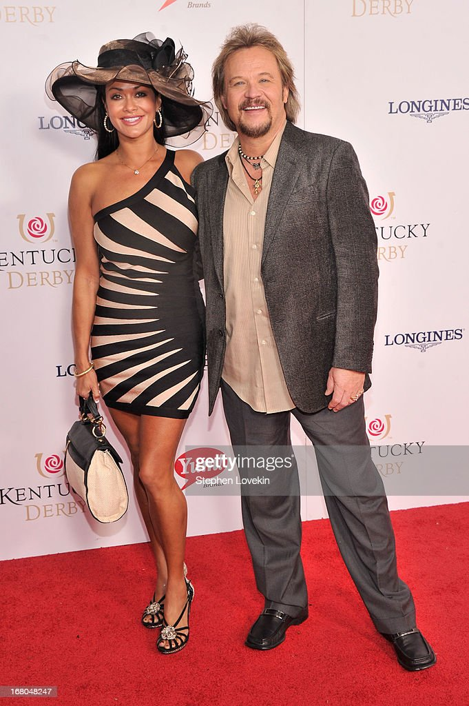 Travis Tritt (R) attends the 139th Kentucky Derby at Churchill Downs on May 4, 2013 in Louisville, Kentucky.