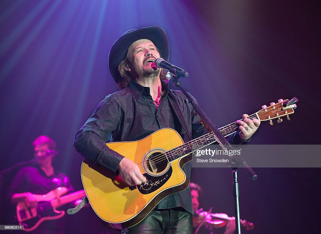 Travis Tritt performs at Route 66 Casino�s Legends Theater on March 26 2010 in Albuquerque New Mexico