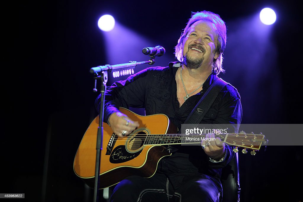 Travis Tritt performs at The Hollywood Casino on August 22, 2014 in Toledo, Ohio.