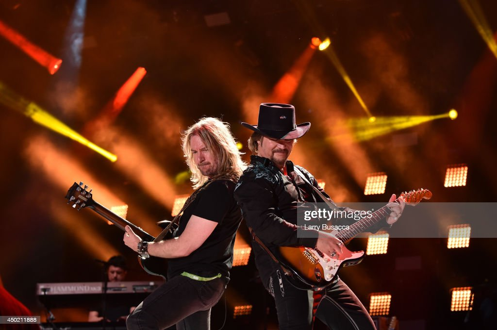 Travis Tritt performs during the 2014 CMA Festival on June 6 2014 in Nashville Tennessee