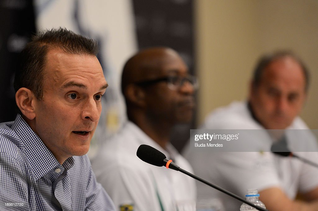 Travis Tygart, USADA Chief Executive attends the Laureus/AIPS Integrity In Sport Press Discusssion at the Windsor Atlantica during the 2013 Laureus World Sports Awards on March 11, 2013 in Rio de Janeiro, Brazil.