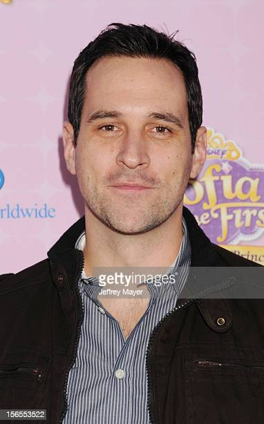 Travis Willingham arrives at the Disney Channel's Premiere Party For 'Sofia The First Once Upon A Princess' at the Walt Disney Studios on November 10...