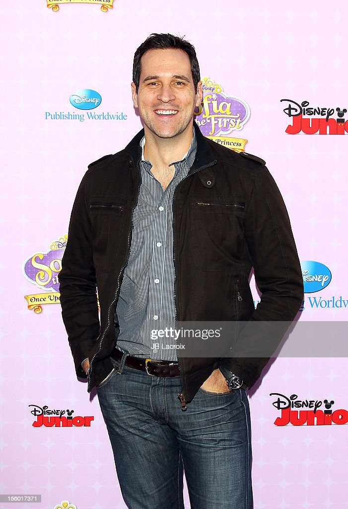 Travis Willingham attends the premiere of Disney Channels' 'Sofia The First: Once Upon a Princess' at Walt Disney Studios on November 10, 2012 in Burbank, California.