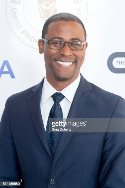 Tray Thompson attends the 14th Annual Brass Ring Awards Dinner at The Beverly Hilton Hotel on June 8 2017 in Beverly Hills California