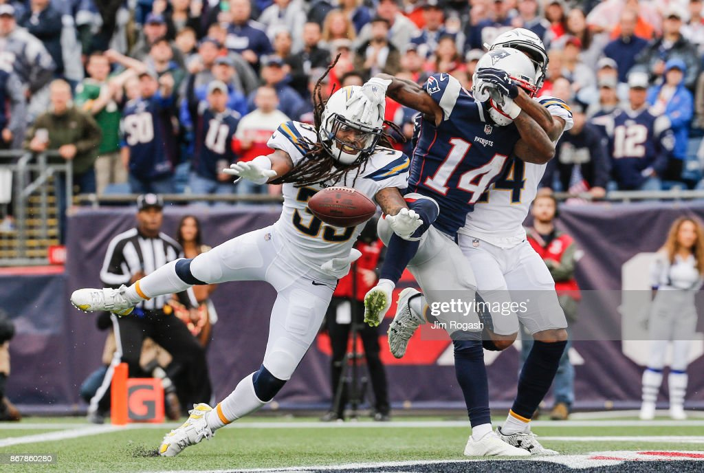 Los Angeles Chargers vNew England Patriots
