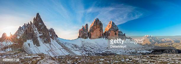Tre Cime.   Dolomite Alpi, Italia