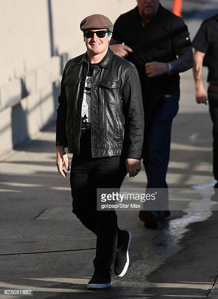 Tre Cool of 'Green Day' is seen on November 21 2016 in Los Angeles