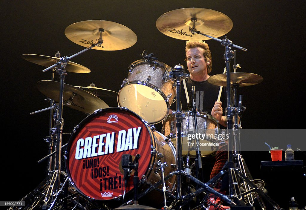 Tre Cool of Green Day performs at ACL Live on March 15, 2013 in Austin, Texas.