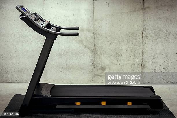 Treadmill in a Basement