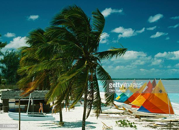 Treasure Cay resort on Great Abaco Island in the Bahamas March 1986