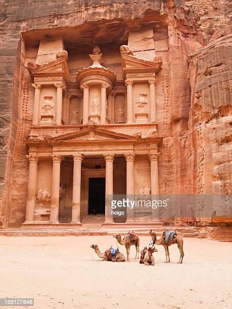 Treasury building, Petra, Jordanien