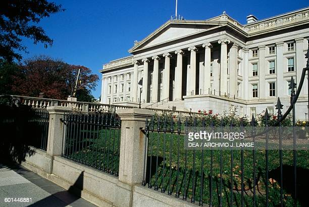 Treasury Building United States Department of the Treasury Washington DC District of Columbia United States of America