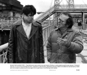 Treat Williams is given direction from Sidney Lumet in a scene from the film 'Prince Of The City' 1981