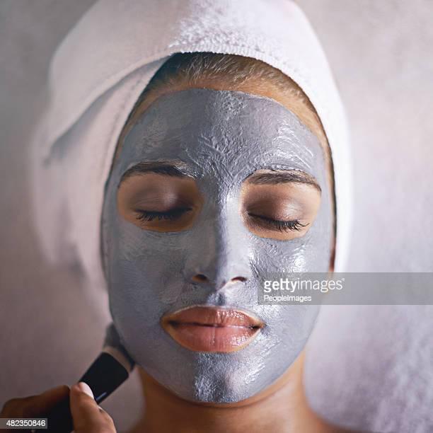 Traiter elle-même à un luxueux soin du visage