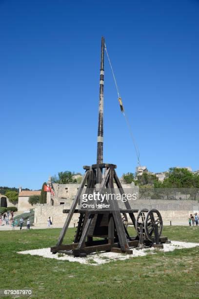 Trebuchet Siege Machine Les Baux-de-Provence Provence