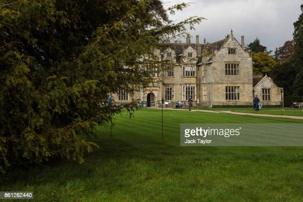 A tree grows in front of the mansion at Wakehurst 30 years after The Great Storm devastated much of the botanic garden's landscape on October 14 2017...