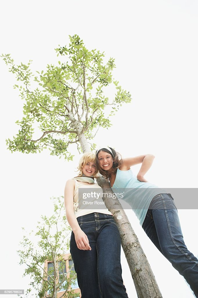 Tree Huggers : Stock-Foto