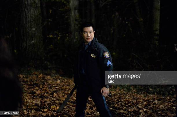 GRIMM 'Tree People' Episode 609 Pictured Reggie Lee as Sergeant Wu