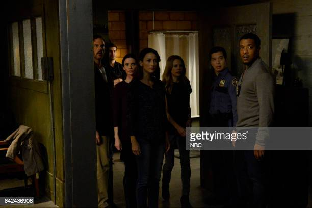 GRIMM 'Tree People' Episode 609 Pictured Silas Weir Mitchell as Monroe David Giuntoli as Nick Burkhardt Bitsie Tulloch as Eve Bree Turner as Rosalee...