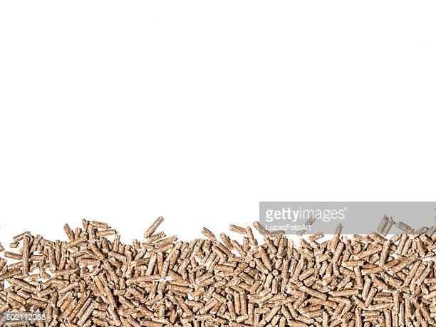 Tree wood-pellet biomass