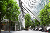 Trees and Office Buildings