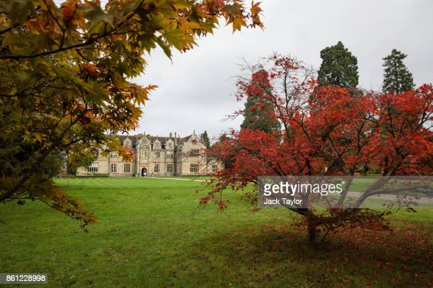 Trees grow in front of the mansion at Wakehurst 30 years after The Great Storm devastated much of the botanic garden's landscape on October 14 2017...