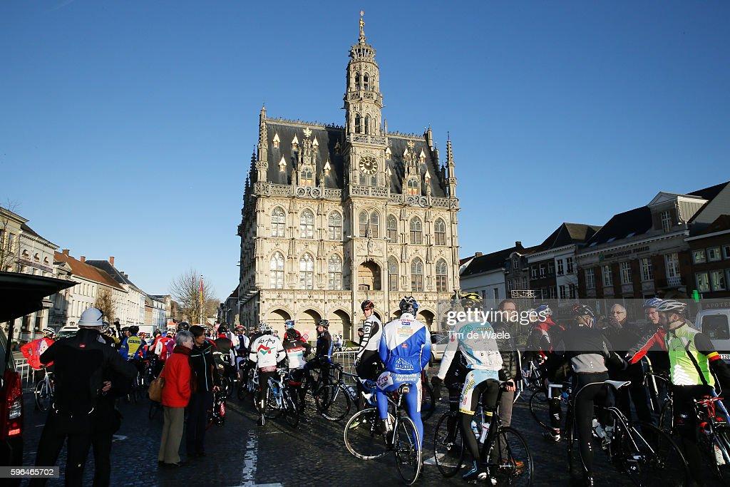 Trek Factory Team 2014 / Fan Day Start / Oudenaarde Flanders Koppenberg Supporters / Tim De Waele